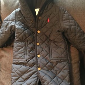 Hooded Infant Ralph Lauren Snowsuit